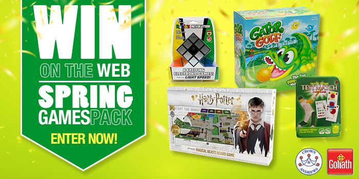 Win on the Web - Spring Games Pack